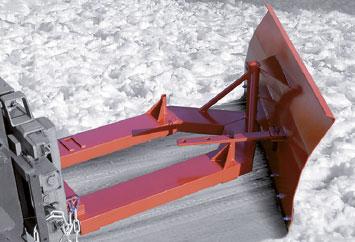 Quita nieves y esparcidoras de sal