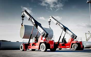Equipos para grandes cargas y puertos
